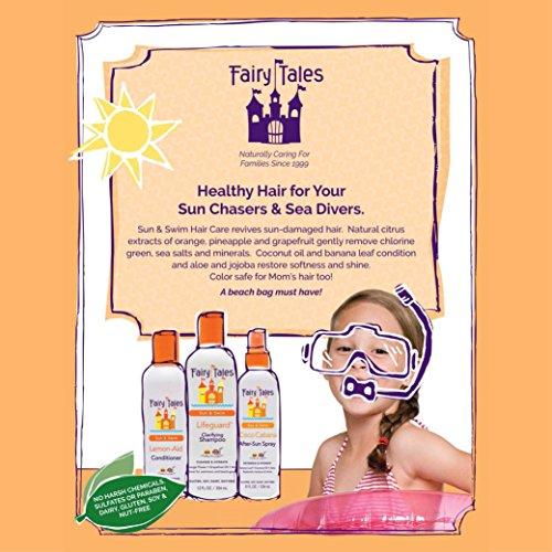 Fairy Tales Sun & Swim Lifeguard Clarifying Shampoo - Daily Kid Summer Shampoo - 12 oz by Fairy Tales (Image #3)