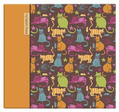 Scrapbooking Cat Kitty - MCS MBI 13.5x12.5 Inch Cute Kitties Scrapbook Album with 12x12 Inch Pages (850030)