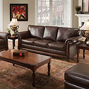 Amazon K & B Furniture Jamestown Sofa with Queen Sleeper Kitchen & Dining