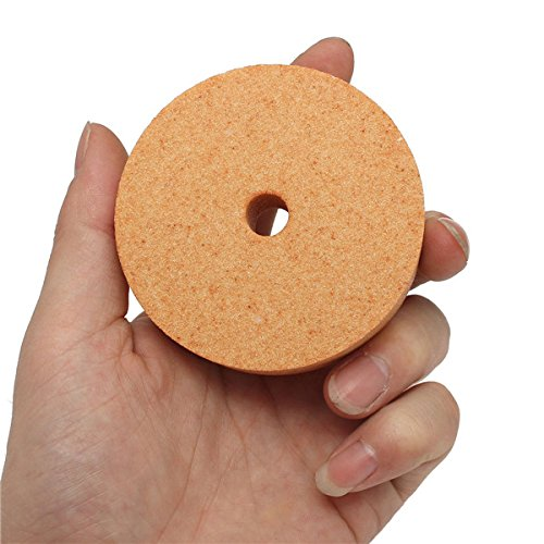 EsportsMJJ Grinding Wheel Abrasive Disc 75*10*20mm Polishing Grinding Stone Wheel For Bench Grinders