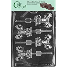 Cybrtrayd Life of the Party A038 Moose Lolly Chocolate Candy Mold in Sealed Protective Poly Bag Imprinted with Copyrighted Cybrtrayd Molding Instructions