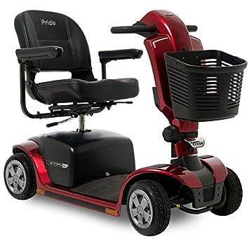 Amazon.com: Pride Victory 9,2 rojo 4 ruedas Scooter ...
