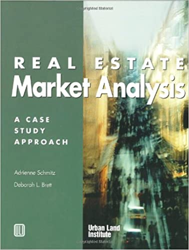 Amazon.Com: Real Estate Market Analysis: A Case Study Approach