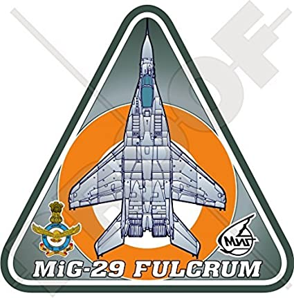 Amazon com: MIG-29 FULCRUM INDIA Mikoyan-Gurevich MiG-29B