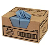 Chix DuraWipe General Purpose Towels, 12quot; x 13 1/2quot;, Blue, Creped - Includes 400 wipes.