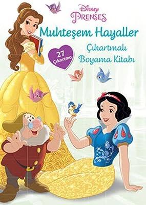 Disney Prenses Muhtesem Hayaller Cikartmali Boyama Kitabi 27