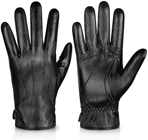 Alepo Genuine Sheepskin Leather Gloves For Men