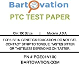 Phenylthiourea (PTC) Test Paper for Genetic Taste