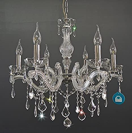 De cristal de la lámpara de la lámpara de techo de araña ...