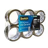Scotch Cinta de Empaque Canela, 6 pack, 48mmx150m