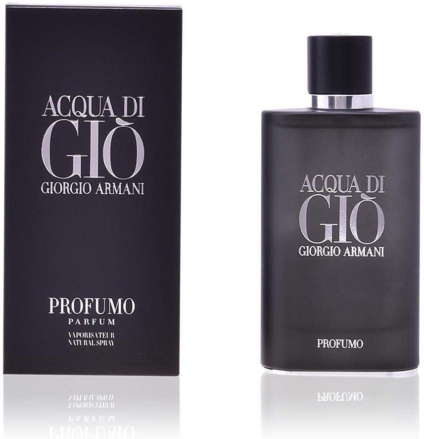 Emporio Armani Acqua di Giò Profumo 40 ml - eau de parfum (Hombres, Bergamota, Marine, Geranium, Rosemary, Sage, Incense, Patchouli, Aerosol, Envase no recargable)