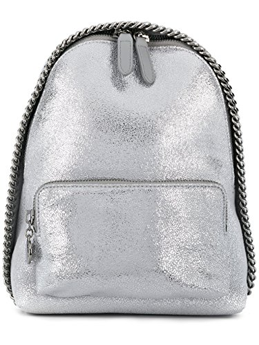 Stella McCartney Silver Mini Falabella Backpack