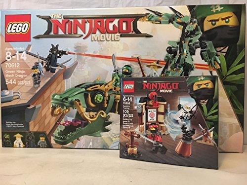 Lego Ninjago Movie Green Ninja Mech Dragon   Lego Ninjago Movie Spinjitzu Training