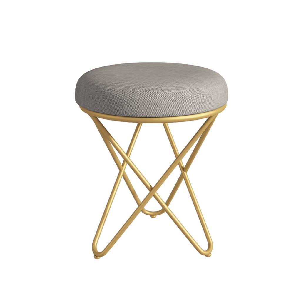 Bedroom dressing stool Nordic dressing table small stool modern minimalist makeup chair nail soft makeup makeup stool shoe bench GZ-small seat