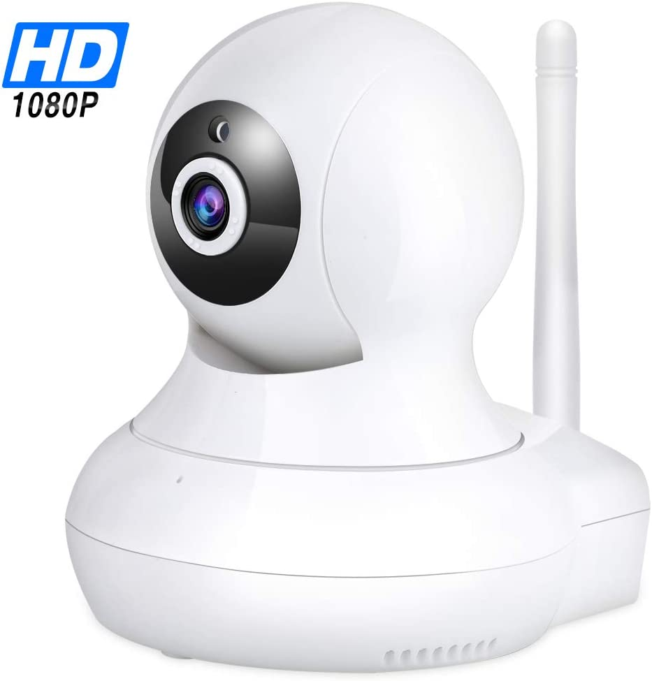 WiFi IP Camera 1080P – TENVIS Wi-Fi IP Security Camera Surveillance Camera System Wireless HD 1080p Security Cam Home Dome Baby Elder Pet Nanny Monitor with Pan Tilt Two-Way Audio Night Vision