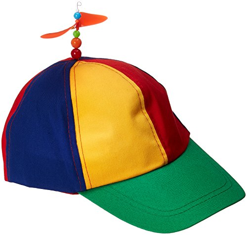 Novelty Hat - Forum Novelties Classic Propeller Hat, Multi,