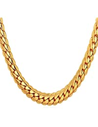 18K Gold Plated Necklace With