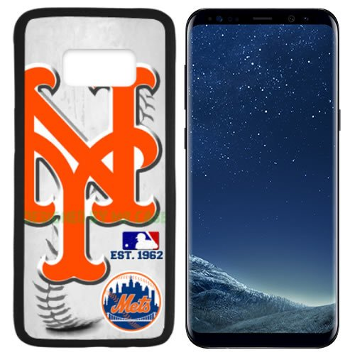 Mr Met Light (Mets New York Baseball New Black Samsung Galaxy S8 PLUS Case By Mr Case)