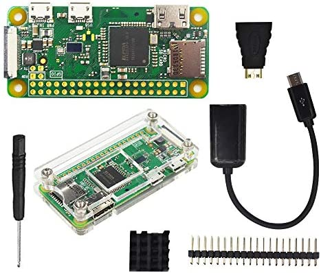 Raspberry Pi Zero V1.1 W 1GHz 512MB Integrat WiFi Bluetooth Mini Micro HDMI USB