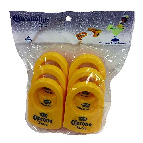 Corona Extra CoronaRita Clip, Yellow