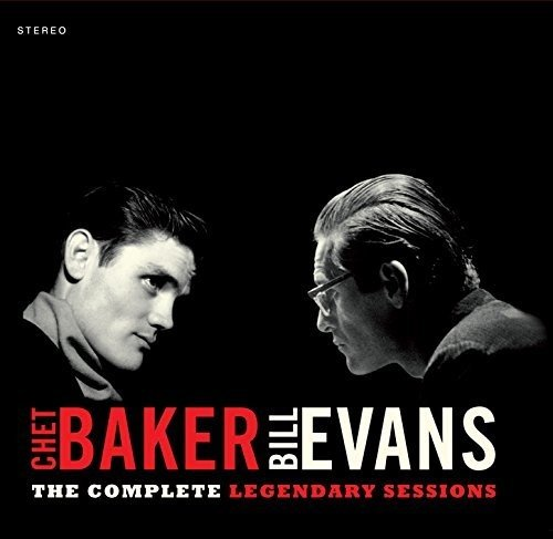 CD : CHET & EVANS,BILL BAKER - Complete Legendary Sessions (Bonus Track, Deluxe Edition, Mini LP Sleeve, Remastered, Spain - Import)