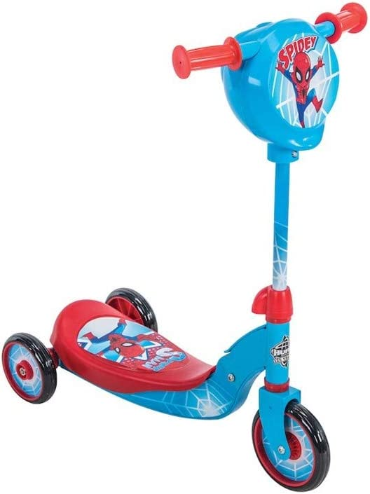 Wonders-Shop-USA New My Spider Man Kick Scooter 3 Wheels Scooter with Secret Storage