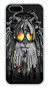 For HTC One M9 Phone Case Cover Rastafurrian Kitten PC Hard Plastic For HTC One M9 Phone Case Cover Whtie