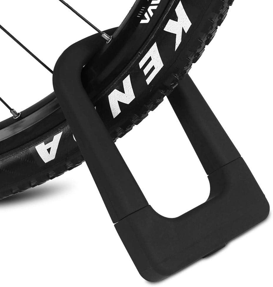 Dfghbn Candado en U De Silicona U-Lock Bloqueo de Bicicletas de ...