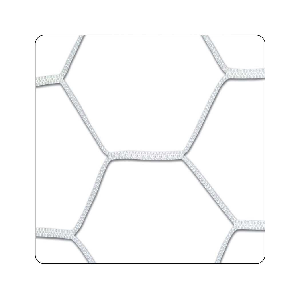 Champro Braided Hexagonal Netホワイト、4-mm)
