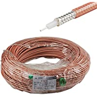 Eightwood RF Coax Coaxial M17/128 RG400 Cable, 10 feet