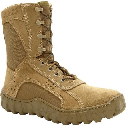 Rocky Men's S2V Work Boot,Olive Mojave,11 M US