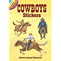 Cowboys Stickers (Dover Little Activity Books Stickers)