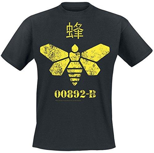Breaking-Bad-Camiseta-Golden-Moth-Chemical-Negro