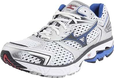 Mizuno Men's Wave Inspire 7 Running Shoe,White/Turkish Sea-Anthracite,12.5 M US