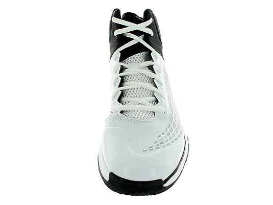 new style af810 0302e Adidas Transcend Mens Basketball Shoe 4 White-black  Amazon.co.uk  Shoes    Bags