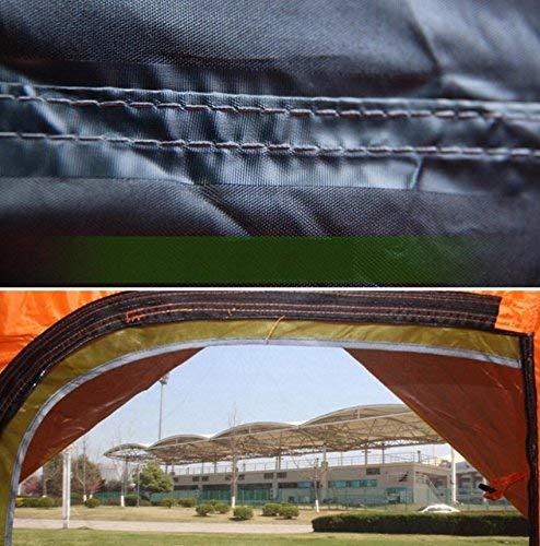 GCC Guo Outdoor Products Outdoor 3-4 persone Tende Tende Tende da campeggio a pressione automatica, Tu argento Plaid Sunscreen impermeabile, forte windbreak, tende pop-up veloci,3-4 persone,arancia   Export    Per Essere Altamente Lodato E Apprezzato Dal Pubblico De 05f81f