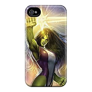 Best Cell-phone Hard Covers For Iphone 6plus With Support Your Personal Customized Fashion She Hulk I4 Pattern JasonPelletier
