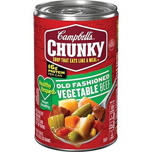 Campbell's Chunky Healthy Request Old Fashioned Vegetable Beef Soup, 18.8 oz. ()