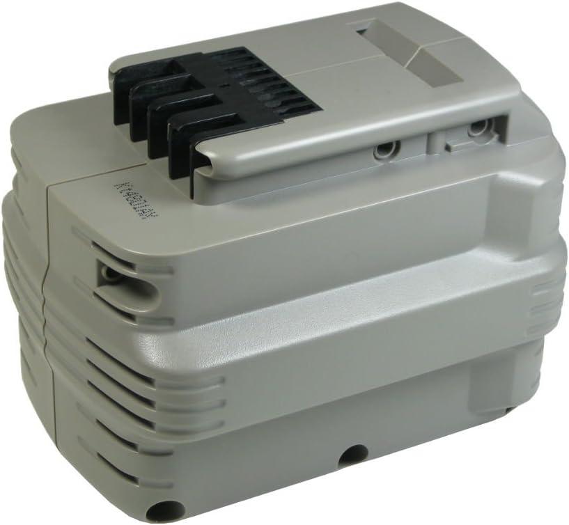 Trade Shop Premium Batería 24V Ni-MH/3000mAh, sustituye a Dewalt DE0240DE0241Dw005K-2DE0243DW0240DW0241DW0242DW0243bha24para DC222dc223DC224DW004, DW005y DW007DW006DW007DW008DW017