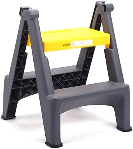 Zichen Silla Taburete Taburete Escalón Pedal de plástico grueso Escalera plegable for el hogar Taburete Escalera pequeña portátil for interiores Escalera profesional for lavado de autos de 2 escalones: Amazon.es: Instrumentos musicales