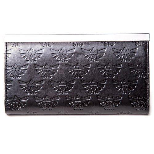 Gazzetta Black and Gold Zelda Crest frizione borsa del portafoglio - Donna
