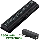 Battpit™ Laptop / Notebook Battery Replacement for Compaq Presario C762NR (4400mAh / 48Wh ) with 2600mAh Power Bank / External Battery for Smartphone.