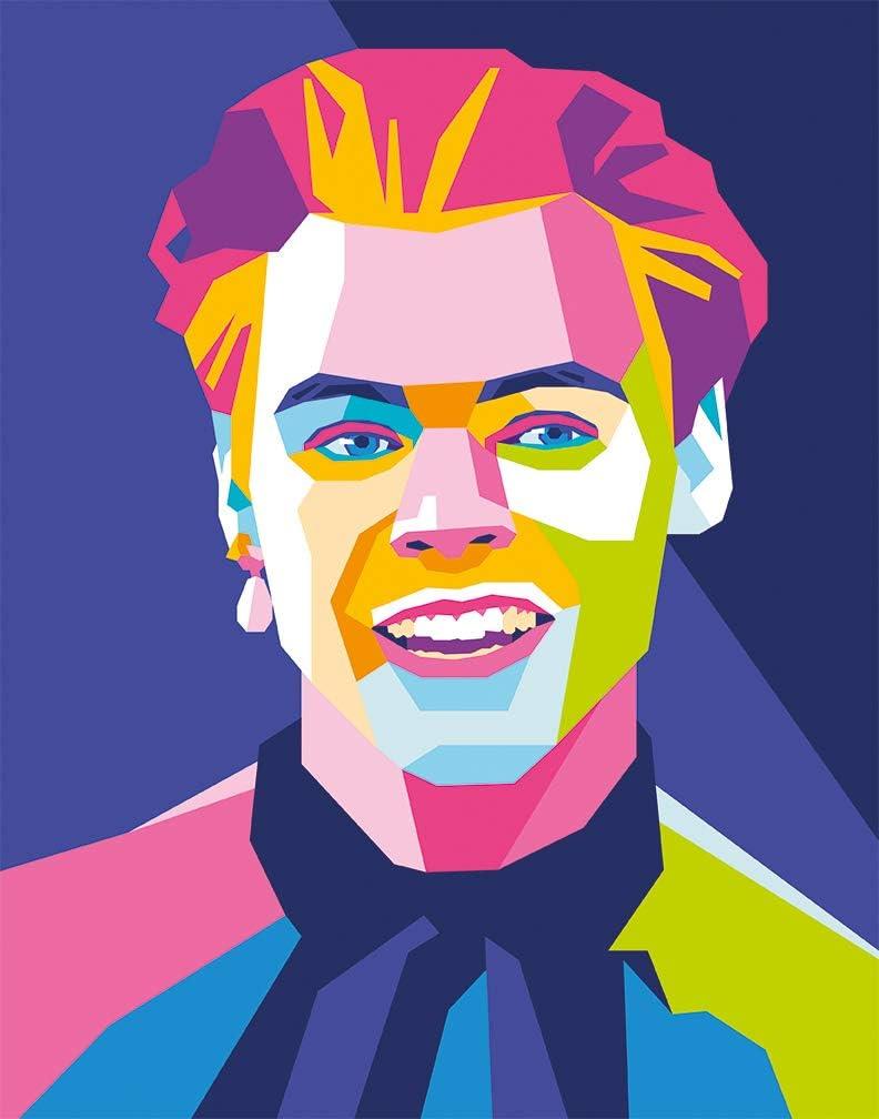Póster de Harry Styles arte de pared moderno (28*36cm)