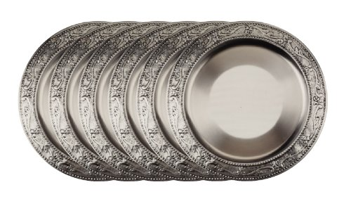 old-dutch-embossed-victoria-charger-plates-13-inch-antique-pewter-set-of-6