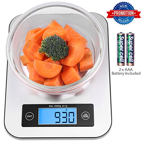 Sleek and sturdy scale for the kitchen