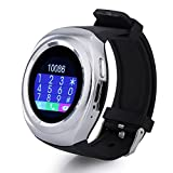 Micromax Joy X1800 COMPATIBLE ZTE V8+ Bluetooth Smartwatch With Sim & Tf Card Support With Apps Like Facebook And Whatsapp Touch Screen Multilanguage Android/Ios Mobile Phone Wrist Watch Phone With Activity Tracker And Fitness Band By VELL- TECH