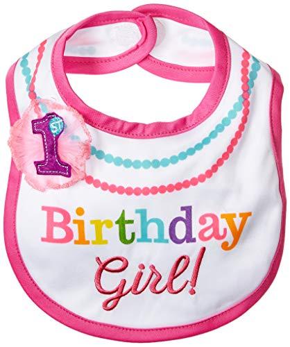 Amscan 1st Birthday Girl Rainbow Bib for $<!--$5.25-->
