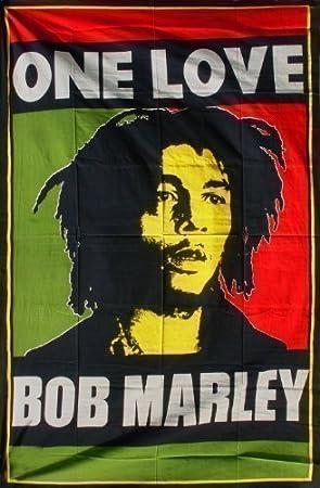 couvre lit bob marley Couvre lit Bob Marley