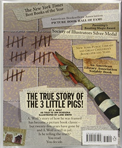 The True Story of the Three Little Pigs 25th Anniversary Edition by imusti (Image #1)