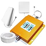 Volferda Cell Phone Signal Booster for Home Band 2 and Band 5 850MHz/1900MHz on Mobile Repeater 2G/3G/4G Verizon U.S.Cellular T-Mobile AT&T